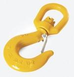 EYE SWIVEL SLING HOOK W/SAFETY LATCH