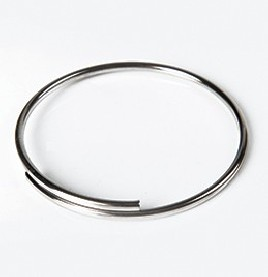 SPRING STEEL RING FOR MOUNTING W.L.L TAGS