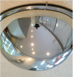Convex Dome Indoor Mirror