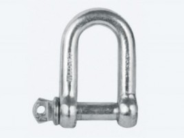 DEE SHACKLES HOT DIP GALVANISED COMMERCIAL QUALITY — NON RATED